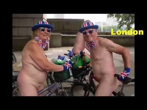 World Naked Bike Ride 2018