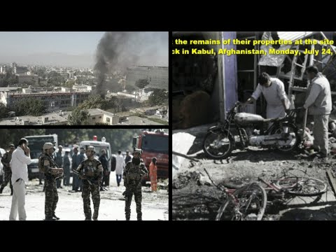 Afghan KABUL A suicide bomber rammed his car packed with explosives into a bus in government employ!