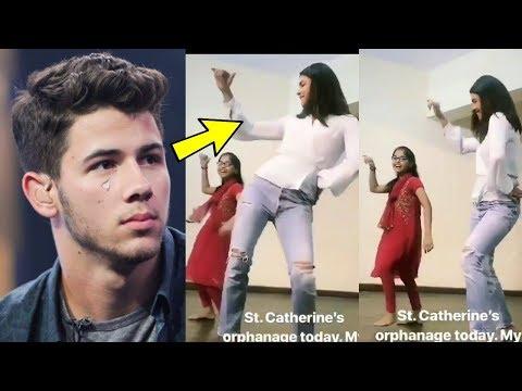 Nick Jonas got emotional whatching Priyanka Chopra dancing with Orphans in Orphange