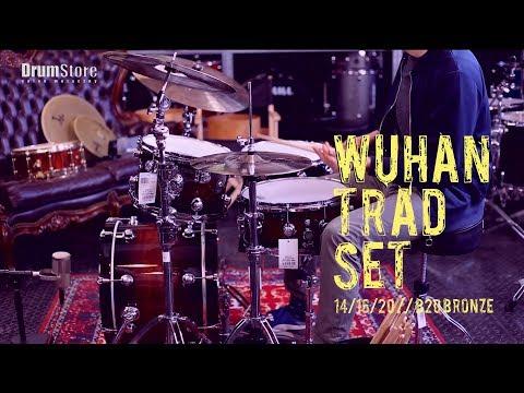 WUHAN WUTBSU - TRADITIONAL SET - 14/16/20 + BAG + Natal Cafe Racer Jazz