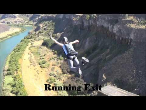 Max & Eva BASE jumping - SRBA Object Avoidance Coarse