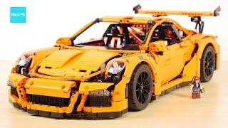 レゴ テクニック ポルシェ911 GT3 RS 42056 説明 24:05 登録者20万人突破の感謝を込めて / LEGO Technic Porsche911, for 0.2M subs