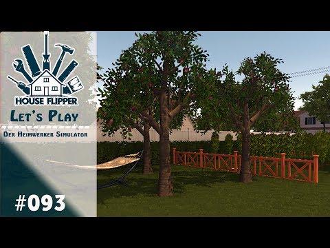 HOUSE FLIPPER 🏠 [#93] | Der Garten Entwickelt Sich Langsam  | Der Heimwerker Simulator [Deutsch]
