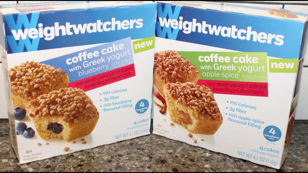 Weight watchers coffee cake with greek yogurt blueberry - Plat cuisine weight watchers ...