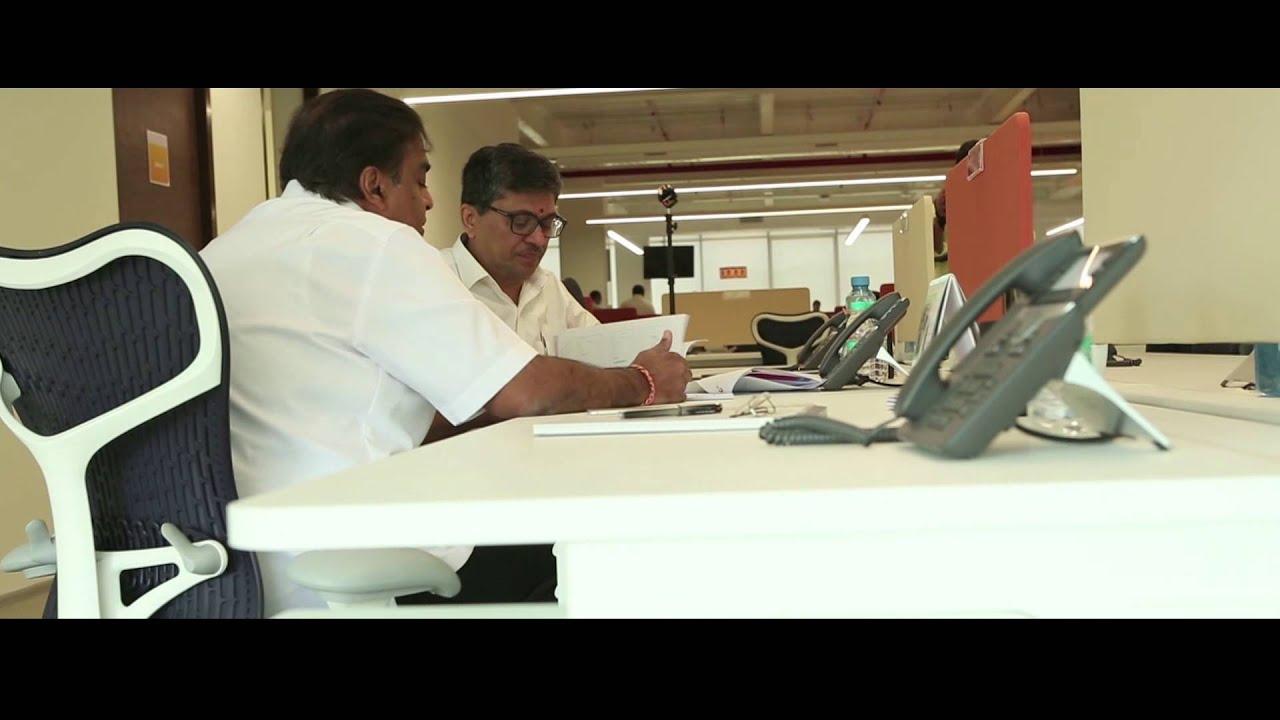 Mukesh ambani embraces open office concept at reliance jio newreliance youtube - Office photo ...
