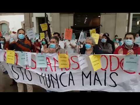 """El Sergas ve """"infundadas"""" las protestas de los sanitarios del área de Pontevedra"""