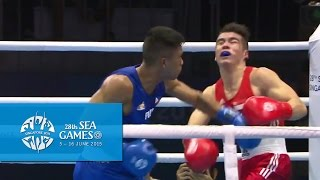 Boxing (Day 5) Men's Welterweight (69kg) Finals Bout 73  | 28th SEA Games Singapore 2015