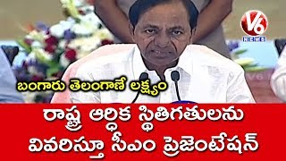 CM KCR Speech After Meeting With 15th Finance Commission Members In Jubilee Hall | Hyderabad | V6