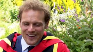 Outlander star Sam Heughan says he wants to become the next king of Scotland | ITV News