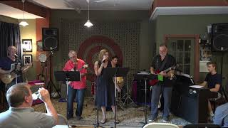 Bob, Cheryl, Arthur, Nic, Zach Performing Somebody To Love Main Street Music and Art Studio