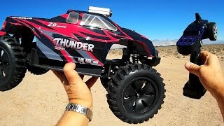 ZD Racing Brushless Upgraded 9106S ZMT-10 Thunder 1/10 4WD RC Car Test Drive Review