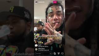 6ix9ine Talks about why XXXTENTACION DIED,  not having security, Shows their last DMs.