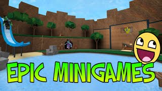 ROBLOX EPIC MINIGAMES w/ rivetfamilyTV and INKLING