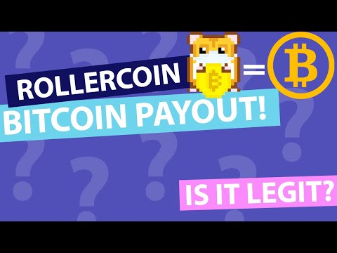 Rollercoin Real Bitcoin Withdraw.