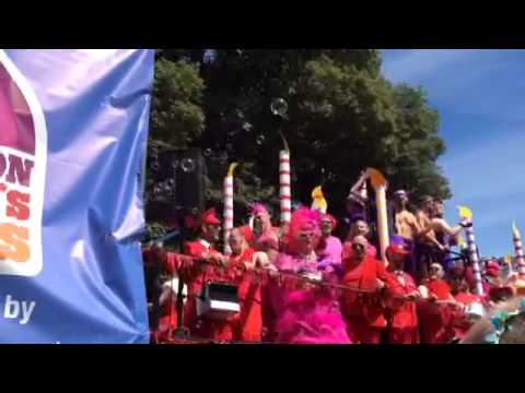 Gay Pride Festival Brighton 2015 25th Anniversar Youtube