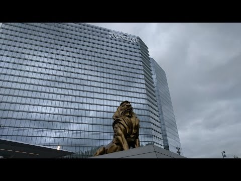 Tour of the MGM National Harbor Resort and Casino