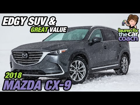 Edgy SUV Great Value 2018 Mazda CX 9