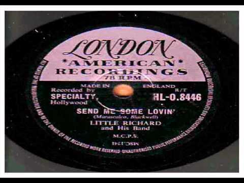 LITTLE RICHARD. SEND ME SOME LOVIN'. 78 RPM.