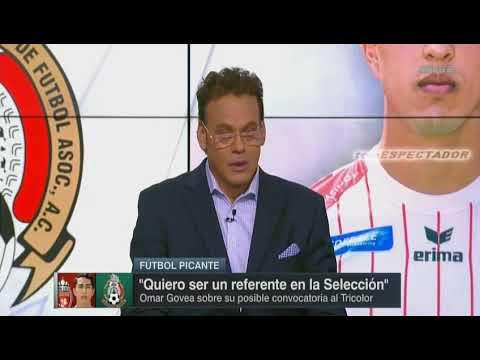 Omar Govea del RE Mouscron de la liga belga seria convocado a la seleccion mexicana - Futbol Picante