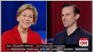 Warren Says She'd Take The Election From Bernie With Superdelegates