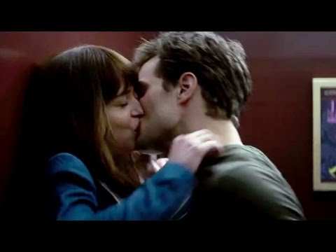 fifty shades of grey kiss scene   YouTube fifty shades of grey kiss scene