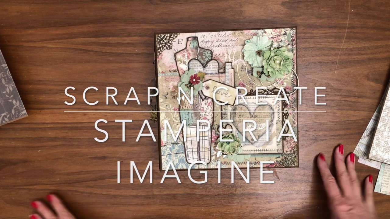Stamperia Imagine 8 1/2 x 8 1/2 Mini Album