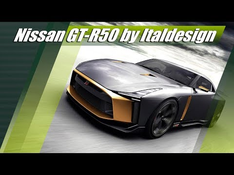 Nissan GT-R50 by Italdesign 720 HP Gorgeous Beast