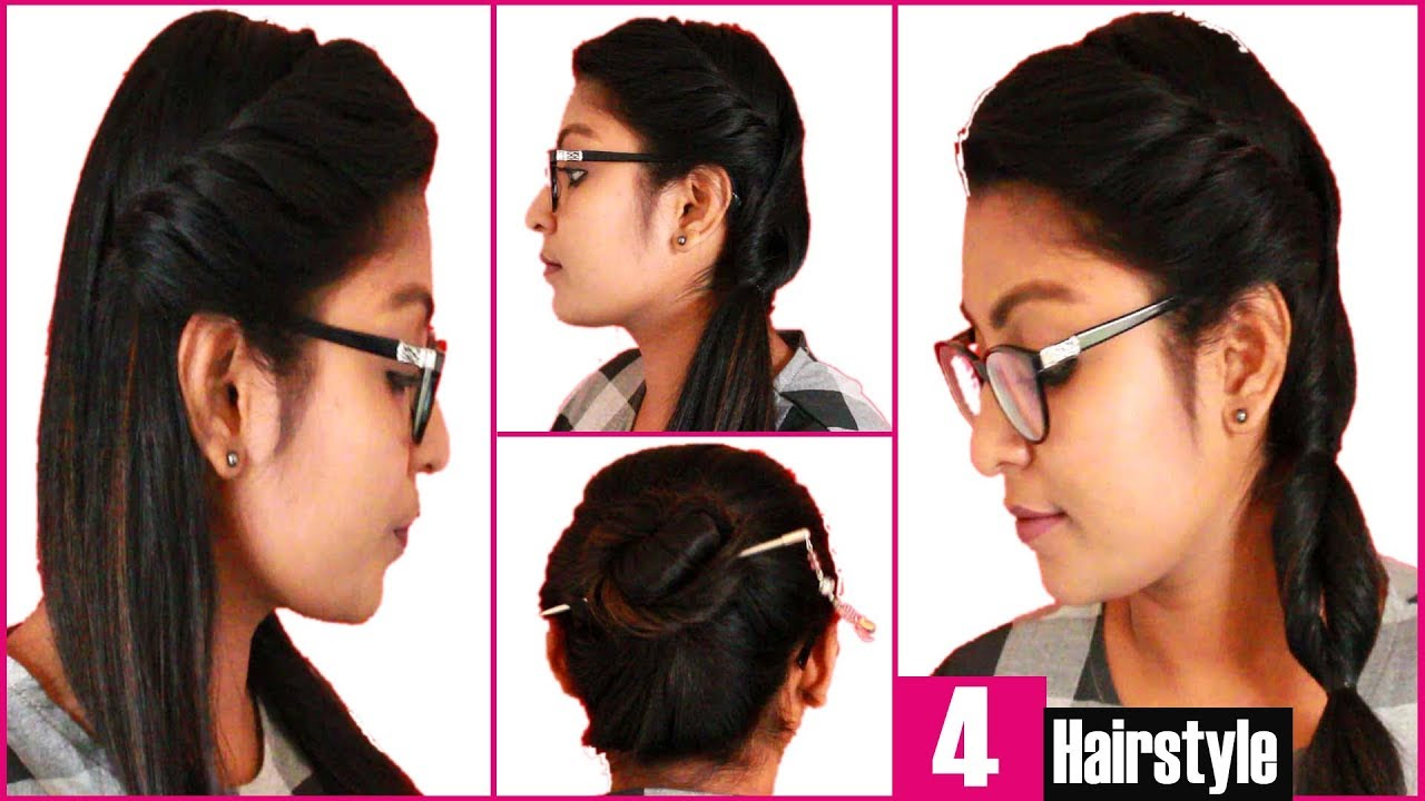 Easy Kondai Hairstyle In Tamil - Best Hairstyles Ideas