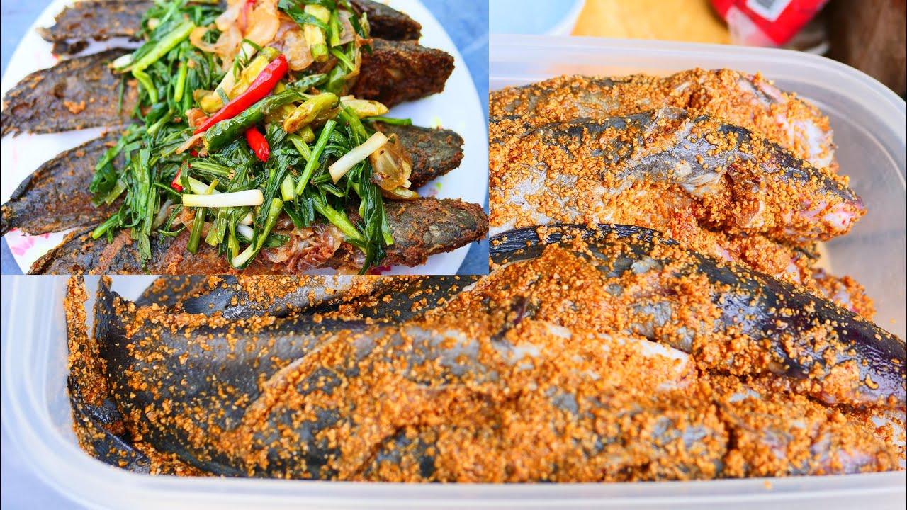 วิธีการทำปลาร้าปลาดุก แบบง่ายๆสำหรับทอดหรือหมก 3วันก็กินได้เลย สูตรทำกินทำขาย แม่โบว์พากิน
