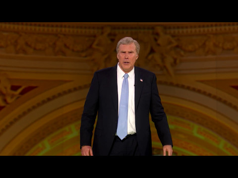 Will Ferrell's Full Speech As George W. Bush At #NotTheWHCD