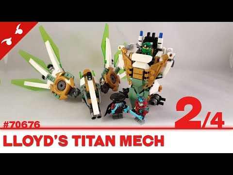 Construction Lego Ninjago Lloyd S Titan Mech 2 4 Fr Youtube