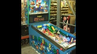 Gottlieb/Nintendo SUPER MARIO BROTHERS Pinball Machine Overhaul! TNT Amusements
