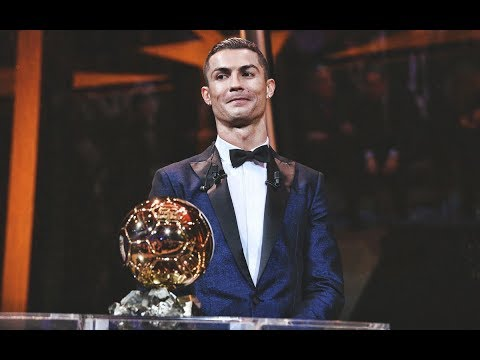 Cristiano Ronaldo wins his 5th Ballon D'or 2017