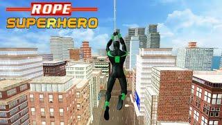 Amazing Rope Hero - City Spider - by Mobixum | Android Gameplay | screenshot 2