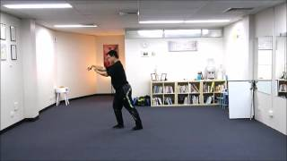Wu style Tai chi chuan 108 movements standard form 86 Single Whip 單鞭(, 2016-07-03T16:10:24.000Z)