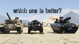 GTA 5 | Which one is better APC vs KHANJALI