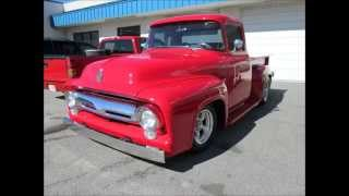 1956 Ford F100 Pick-Up Truck by Paul's Custom Interiors/Auto Upholstery