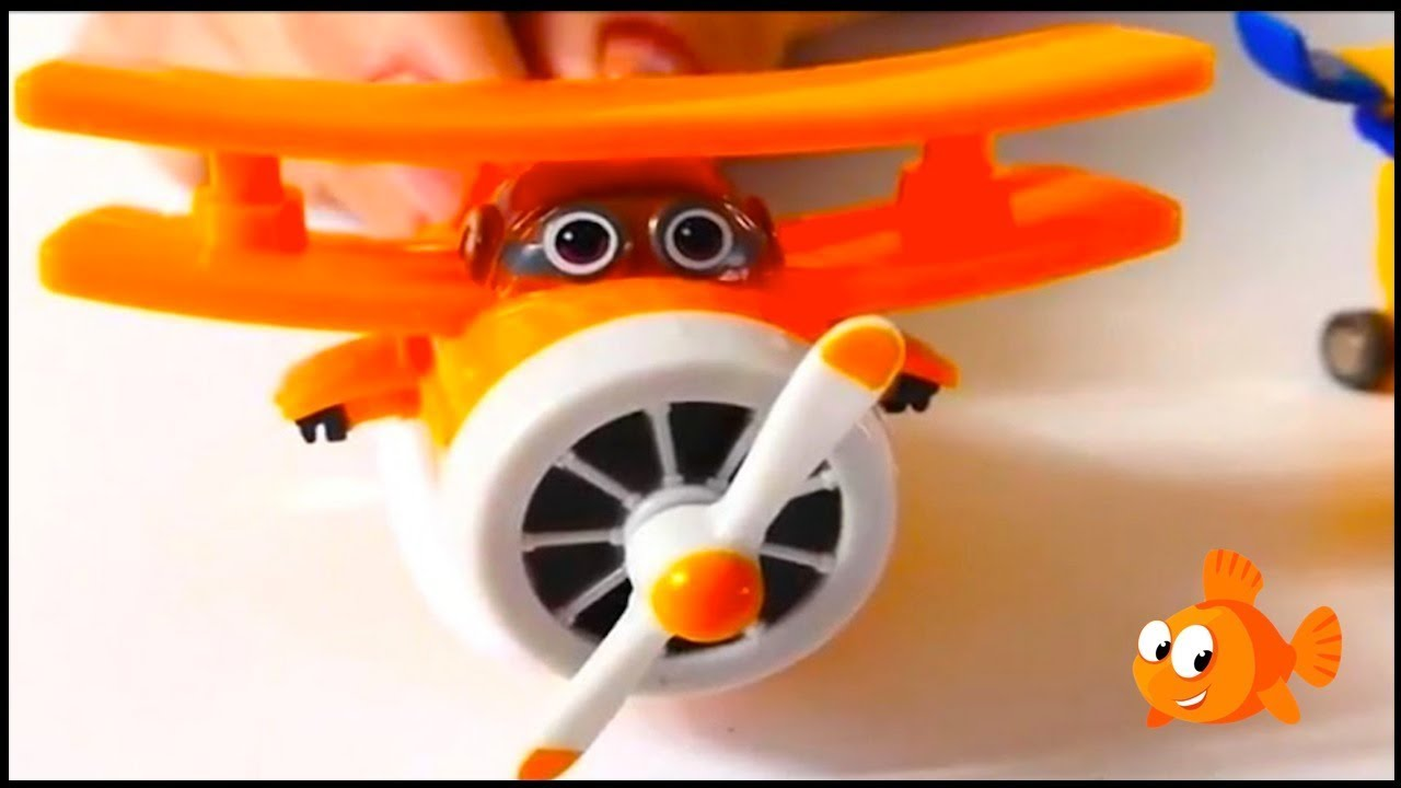 Magic Super Wings Airplane Toys Toy Airplanes Demo For Kids
