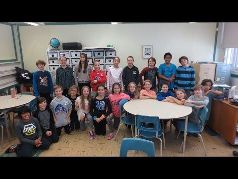 "Dorset Elementary School – Grade 5-6 Class performing ""Machine"" – CBC Music Class Challenge 2016"