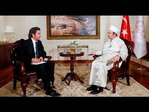 Diyanet İşleri Başkanı Prof. Dr. Mehmet Görmez, TRT Haber'de canlı yayın konuğu oldu.