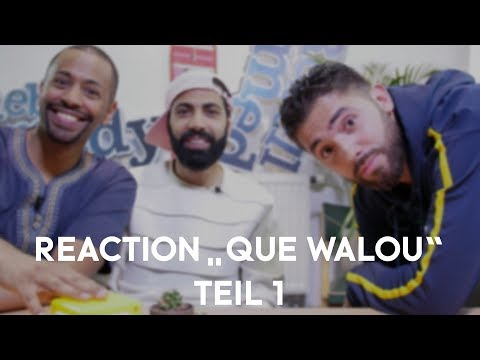 "Namika x RebellComedy - Reaction Video ""Que Walou"" Teil 1"