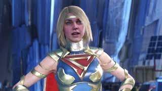 Injustice 2 | Supergirl Ending (PURPLE LASER VISION)