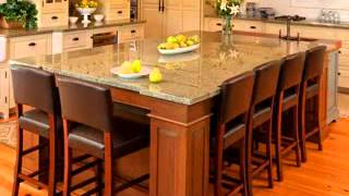 Custom Kitchen Islands Design Decorating Ideas