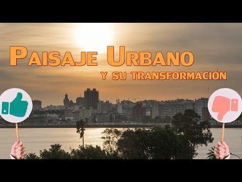 Paisaje Urbano y su transformación