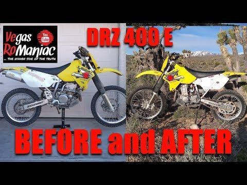 🤑 How To Make A Suzuki DRZ 400 BETTER 🤑 (not A Bike Build Video)