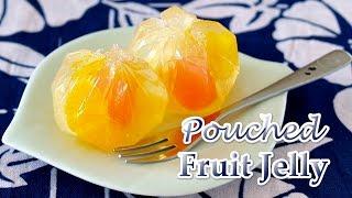 3-Ingredient Pouched Fruit Jelly (Agar-Agar Recipe) フルーツ巾着寒天の作り方 - OCHIKERON - CREATE EAT HAPPY