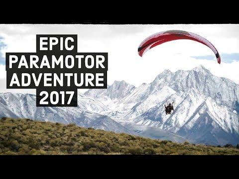 BEST Paramotor Mini-Documentary 2017: Exploring The Sierra Nevadas!