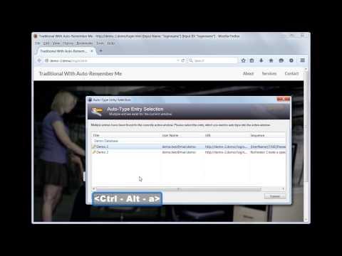 Demo 2: Add URL To Window Title Firefox Addon (Improved auto-type for Firefox+KeePass)