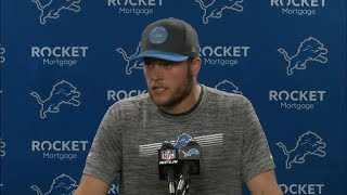 Matthew Stafford on 13-10 win over Chargers