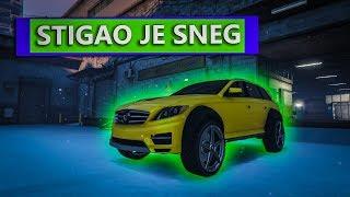 STIGAO JE SNEG U GTA V ! Grand Theft Auto V - Sneg Sine thumbnail